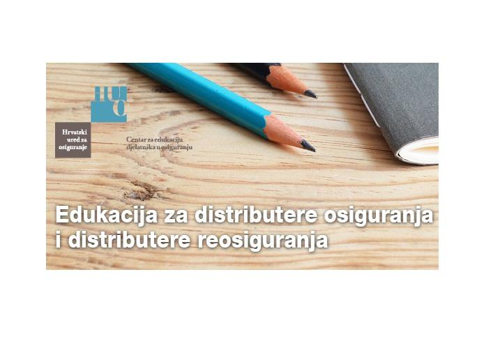 ONLINE Edukacija za distributere osiguranja i distributere reosiguranja - neživotna osiguranja